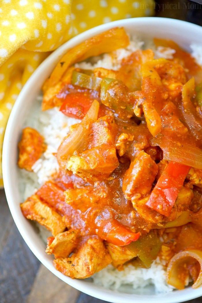 Healthy Instant Pot Recipes Chicken  Instant Pot Chicken Cacciatore Recipe · The Typical Mom