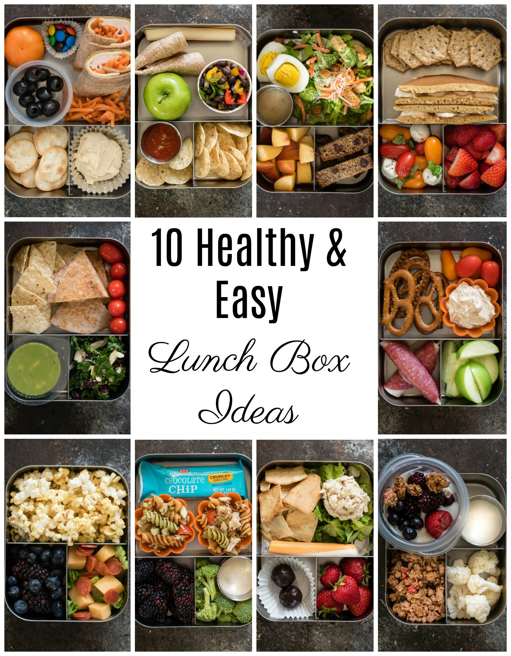Healthy Kids Lunches  10 Healthy Lunch Box Ideas