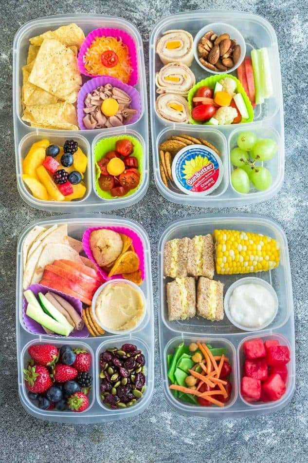 Healthy Kids Lunches  8 Healthy & Easy School Lunches