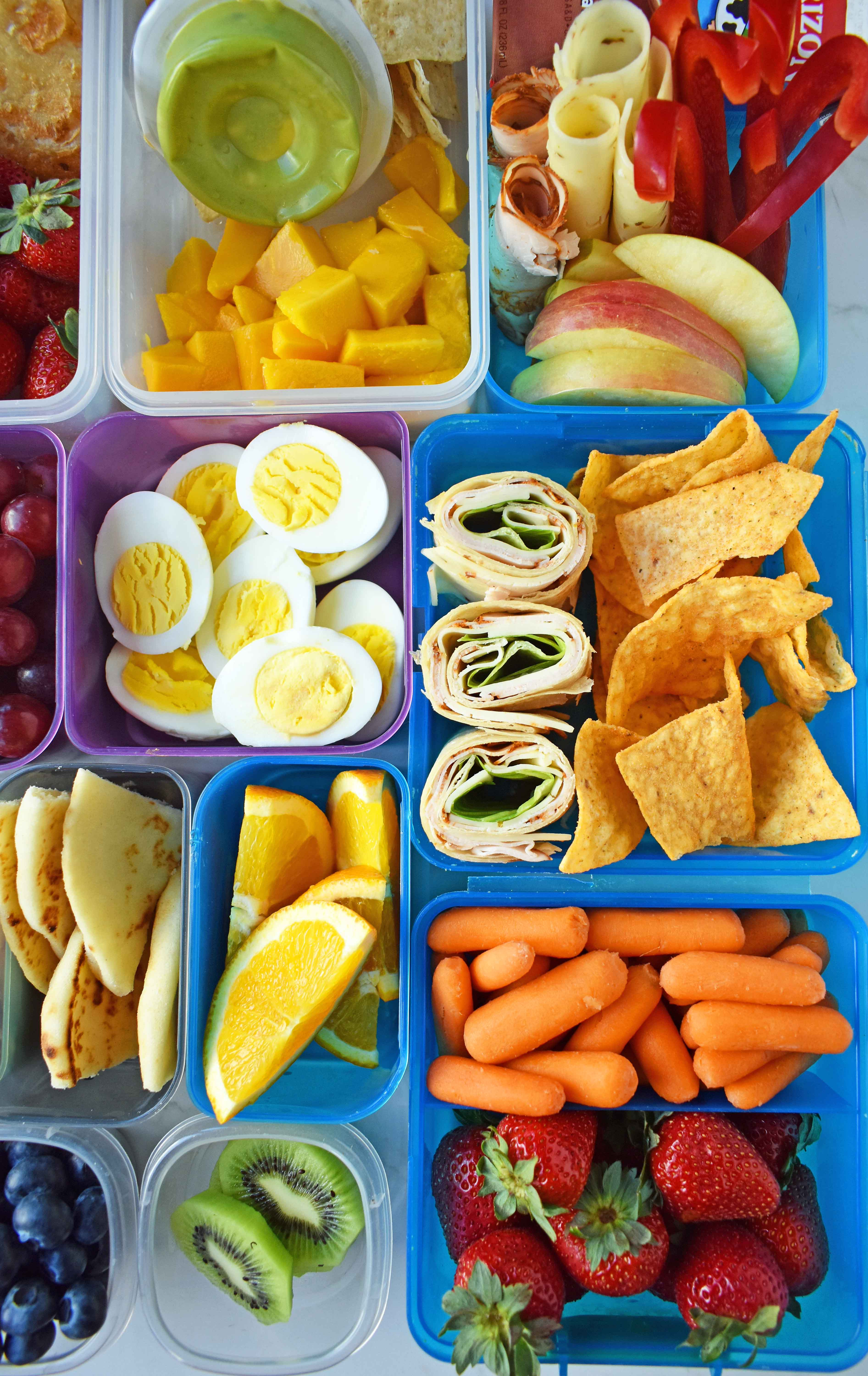 Healthy Kids Lunches  Back to School Kids Lunch Ideas – Modern Honey