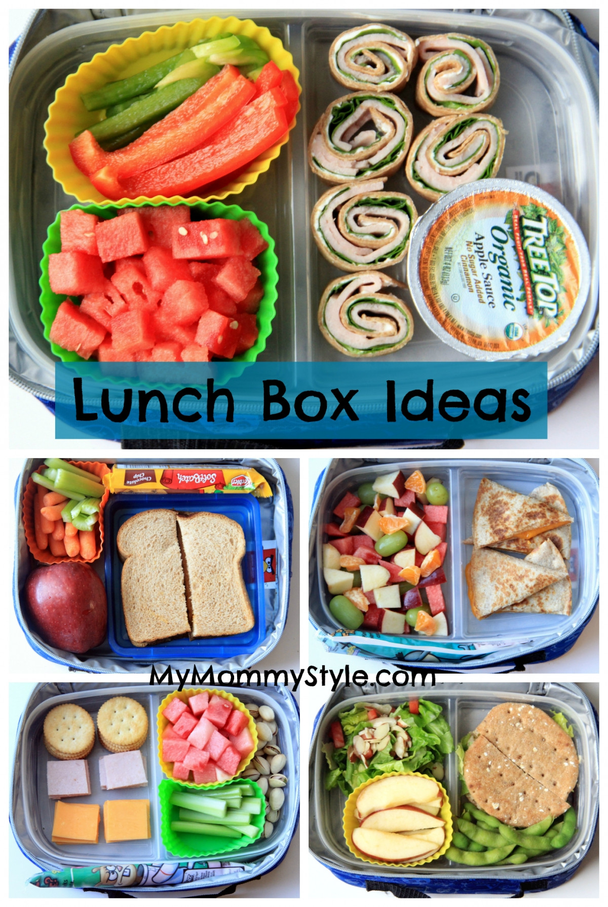 Healthy Kids Lunches  Healthy Lunch Box ideas week 2 My Mommy Style