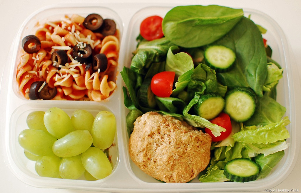 Healthy Kids Lunches  Italian Lunch the Healthy Way