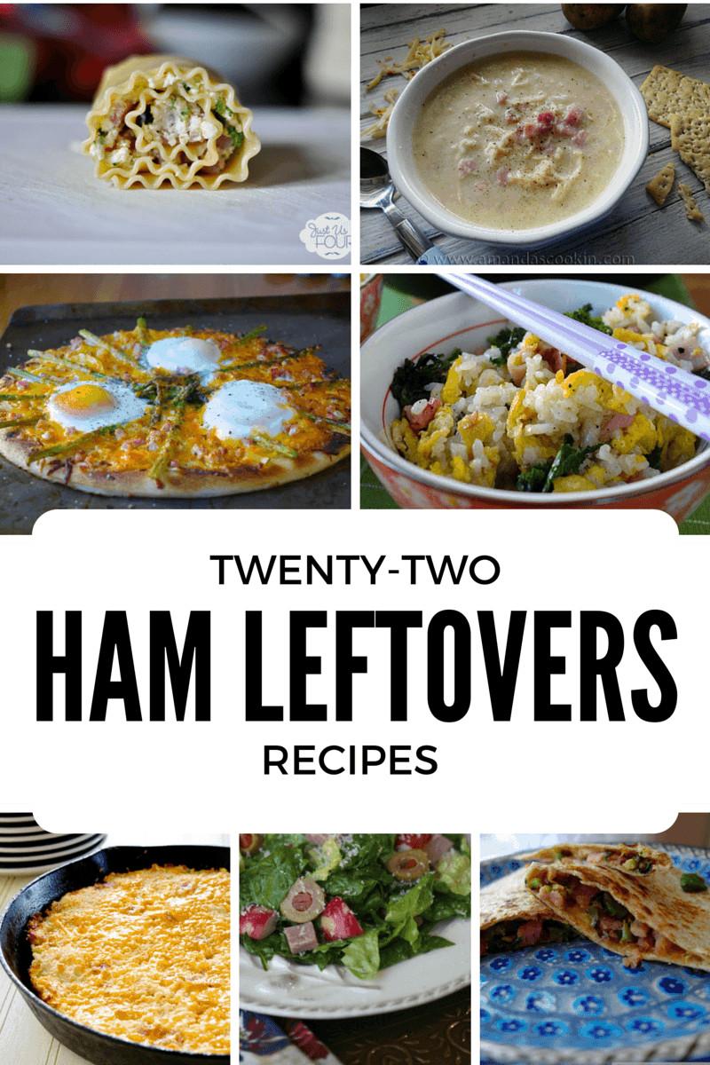 Healthy Leftover Ham Recipes  22 Ham Leftovers Recipes