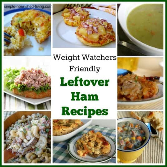 Healthy Leftover Ham Recipes  Easy Leftover Ham Recipes with Weight Watchers Freestyle