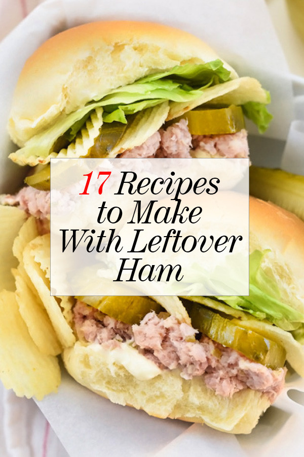 Healthy Leftover Ham Recipes  17 Recipes to Make With Leftover Ham