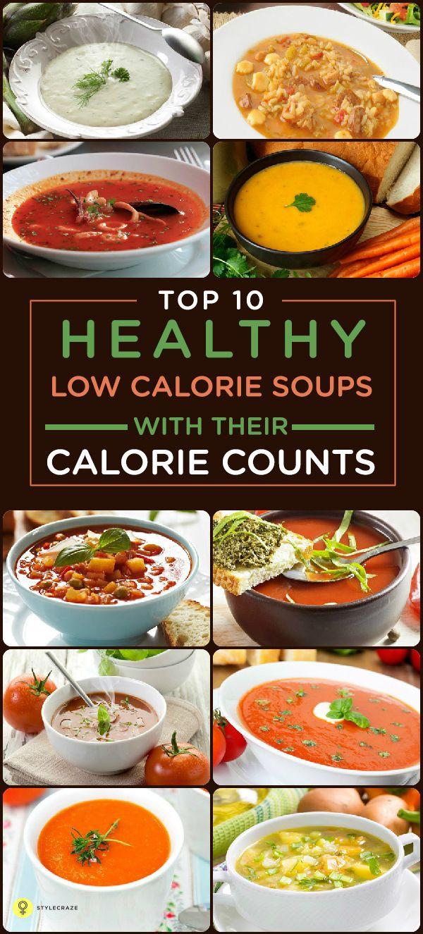 Healthy Low Calorie Soup Recipes  Best 25 Low calorie soups ideas on Pinterest