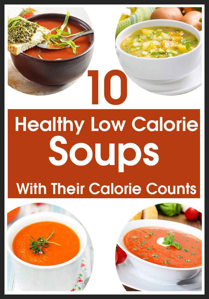 Healthy Low Calorie Soup Recipes  17 Best images about Low Calorie Soups on Pinterest