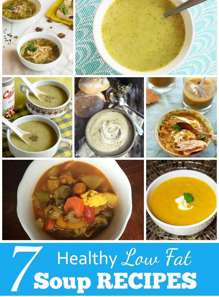 Healthy Low Calorie Soup Recipes  7 Healthy Low Fat Soup Recipes