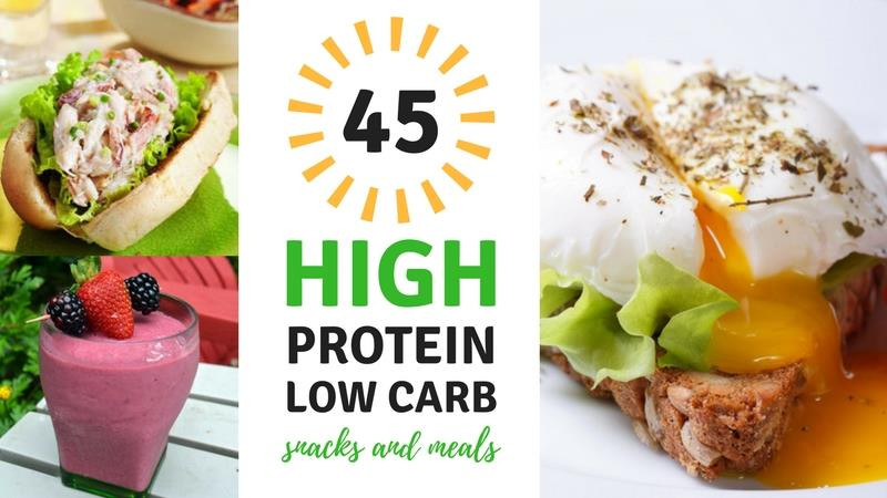 Healthy Low Carb High Protein Recipes  45 High Protein Low Carb Snacks and Meals Best Weight