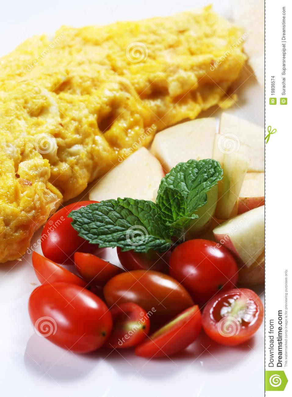 Healthy Low Cholesterol Breakfast  Healthy Low fat Breakfast 01 Stock Image