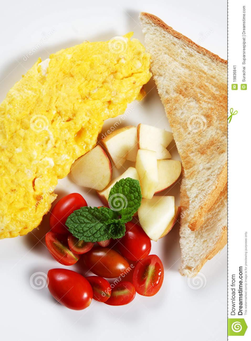 Healthy Low Cholesterol Breakfast  Healthy Low fat Breakfast 03 Stock Image Image