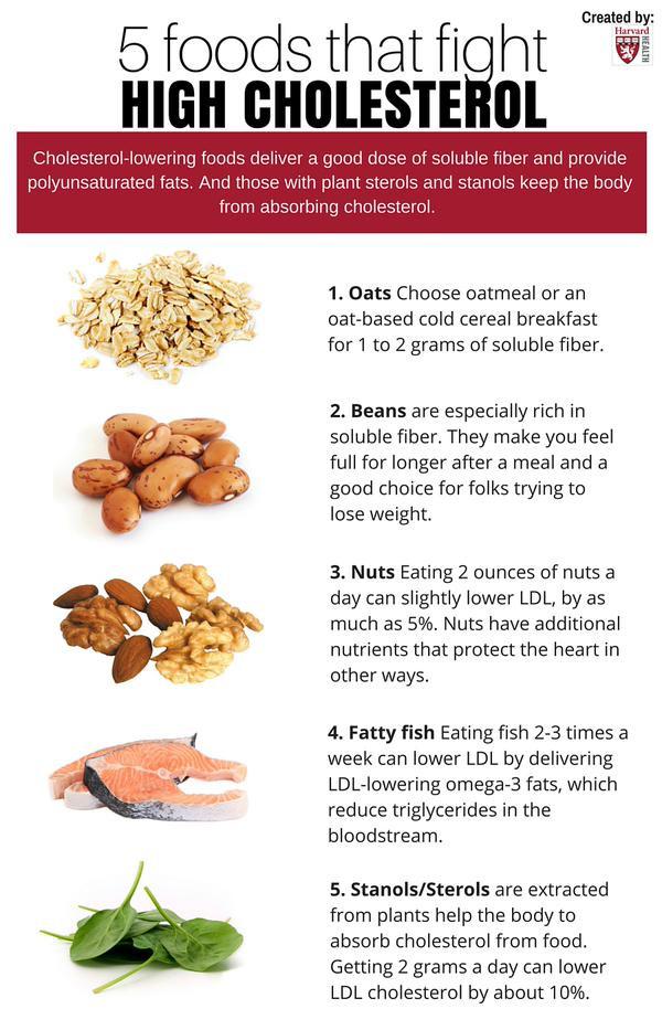 Healthy Low Cholesterol Snacks  High Cholesterol Diet Food desknews