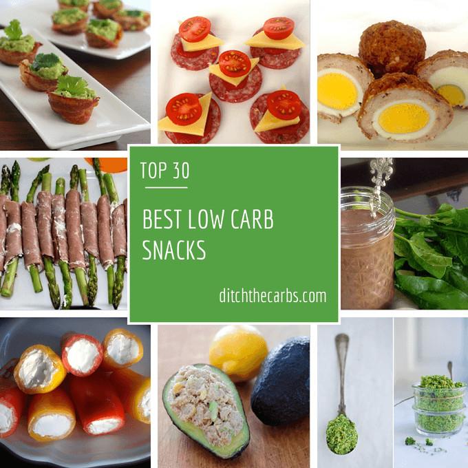 Healthy Low Sugar Snacks  Best Low carb Snacks ever