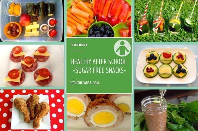 Healthy Low Sugar Snacks  Healthy Sugar Free Snacks after school and at work