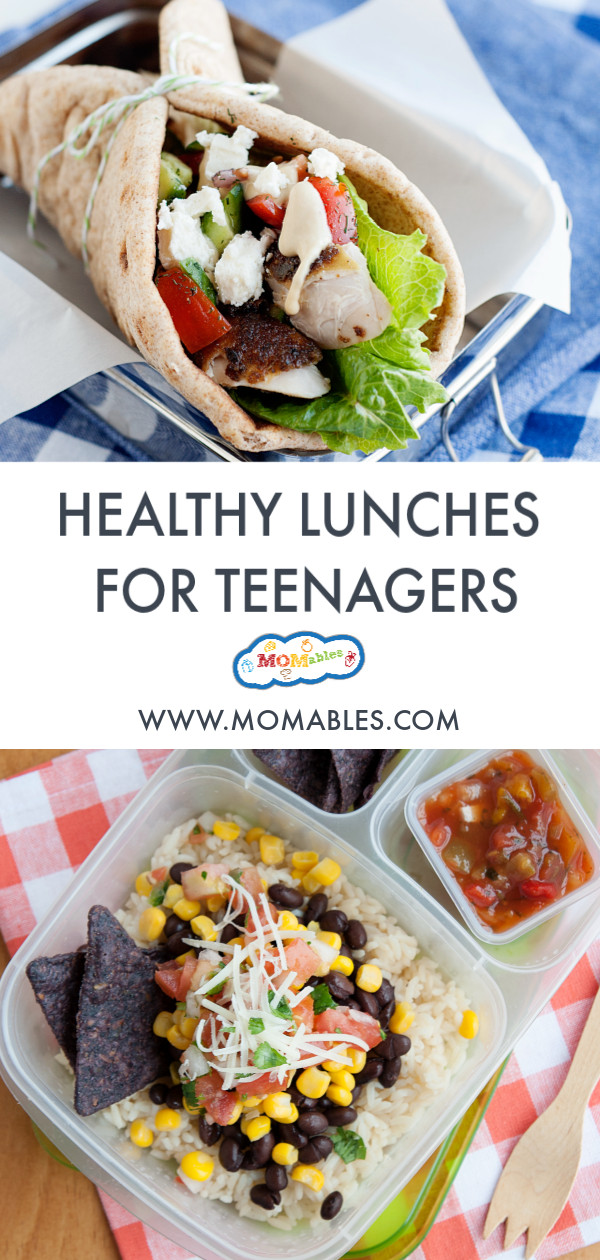 Healthy Lunches For Teens  Healthy School Lunch Ideas for Teens MOMables