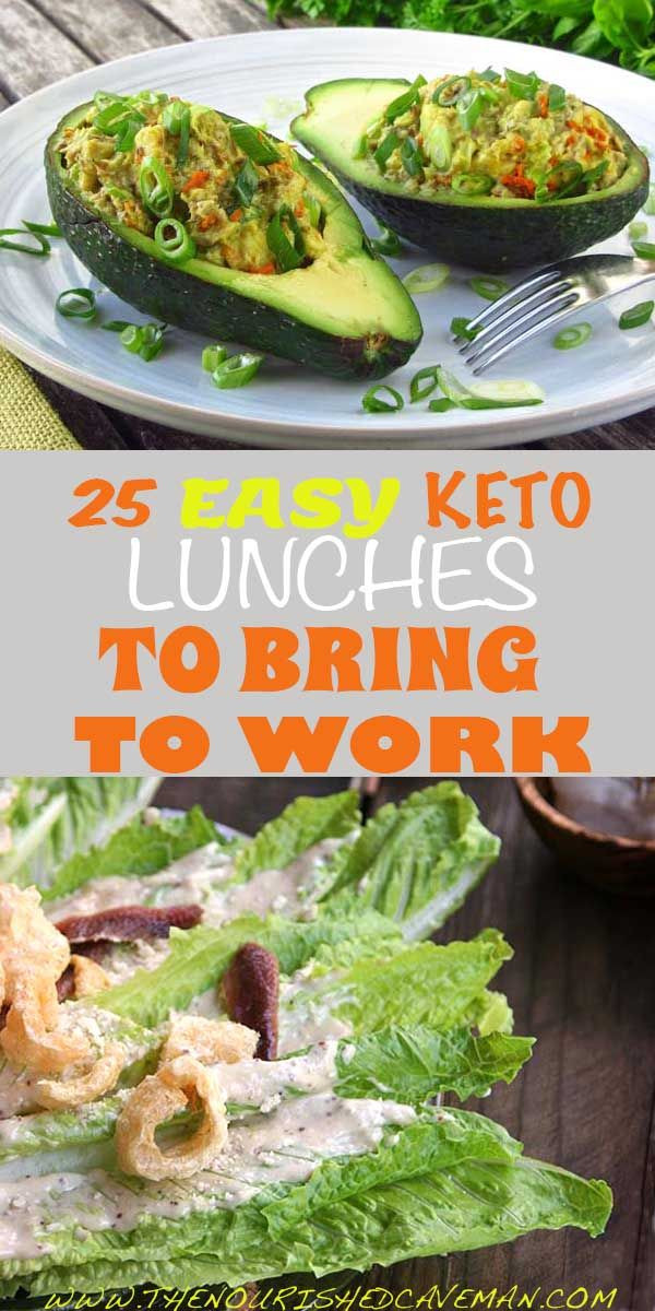 Healthy Lunches To Bring To Work  25 Easy Keto Lunches To Bring To Work