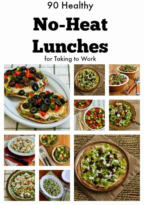 Healthy Lunches To Bring To Work  easy lunch ideas for work no microwave