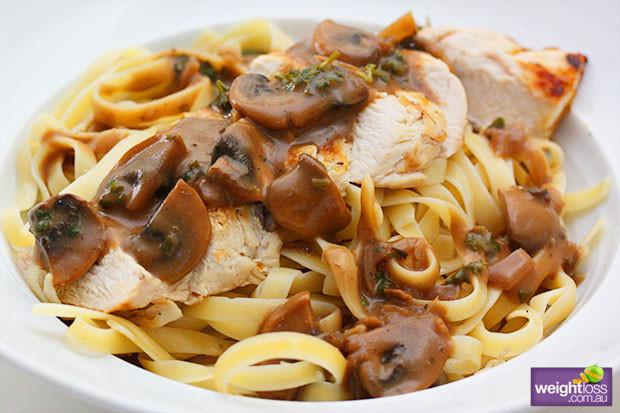 Healthy Mushroom Recipes For Weight Loss  Grilled Chicken Mushroom Sauce