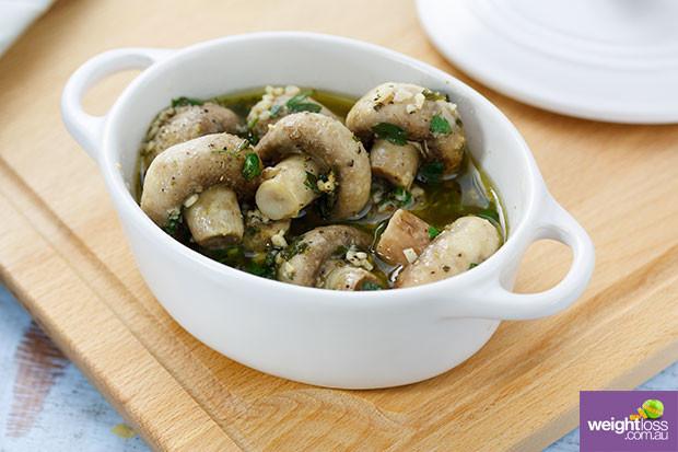 Healthy Mushroom Recipes For Weight Loss  Garlic Mushrooms