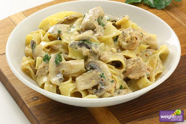 Healthy Mushroom Recipes For Weight Loss  Tuna & Mushroom Pasta