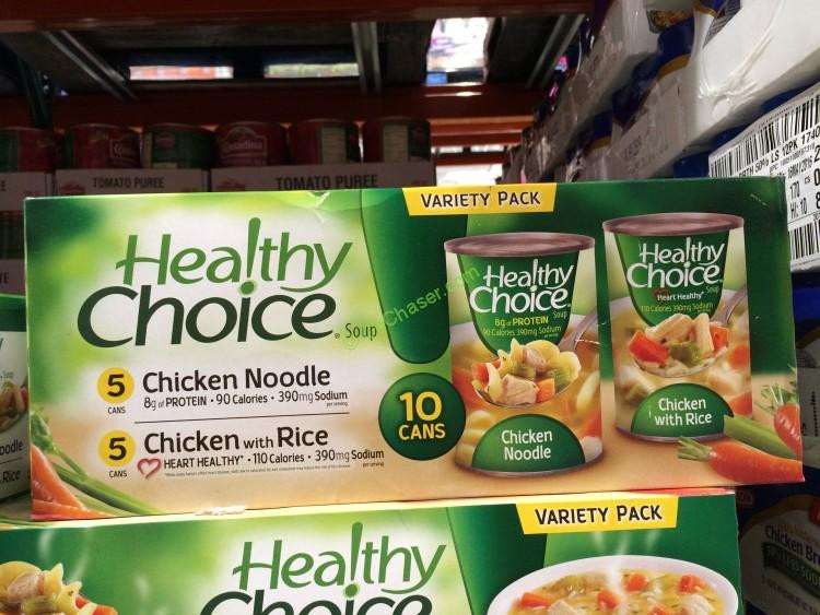 Healthy Noodles Costco  is healthy choice soup good for you