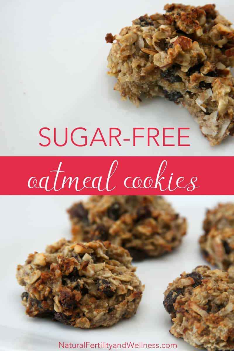Healthy Oatmeal Cookies No Sugar  Healthy oatmeal raisin cookies no added sugar in these
