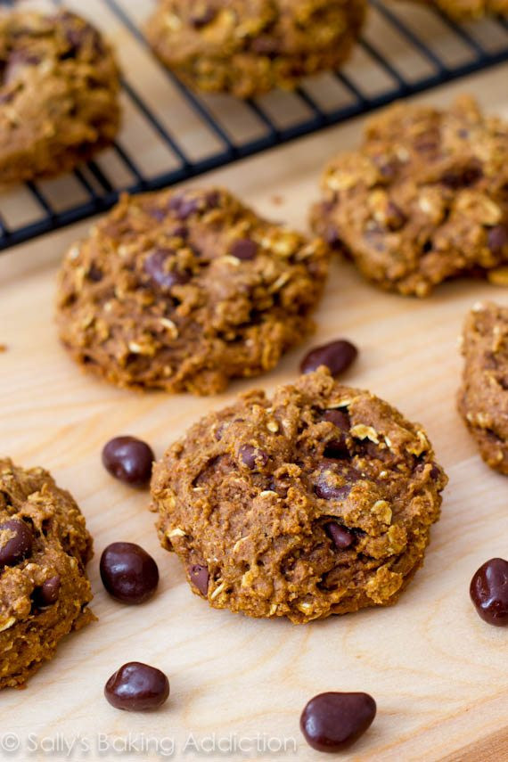 Healthy Oatmeal Cookies No Sugar  Healthy Oatmeal Raisinet Cookies Sallys Baking Addiction