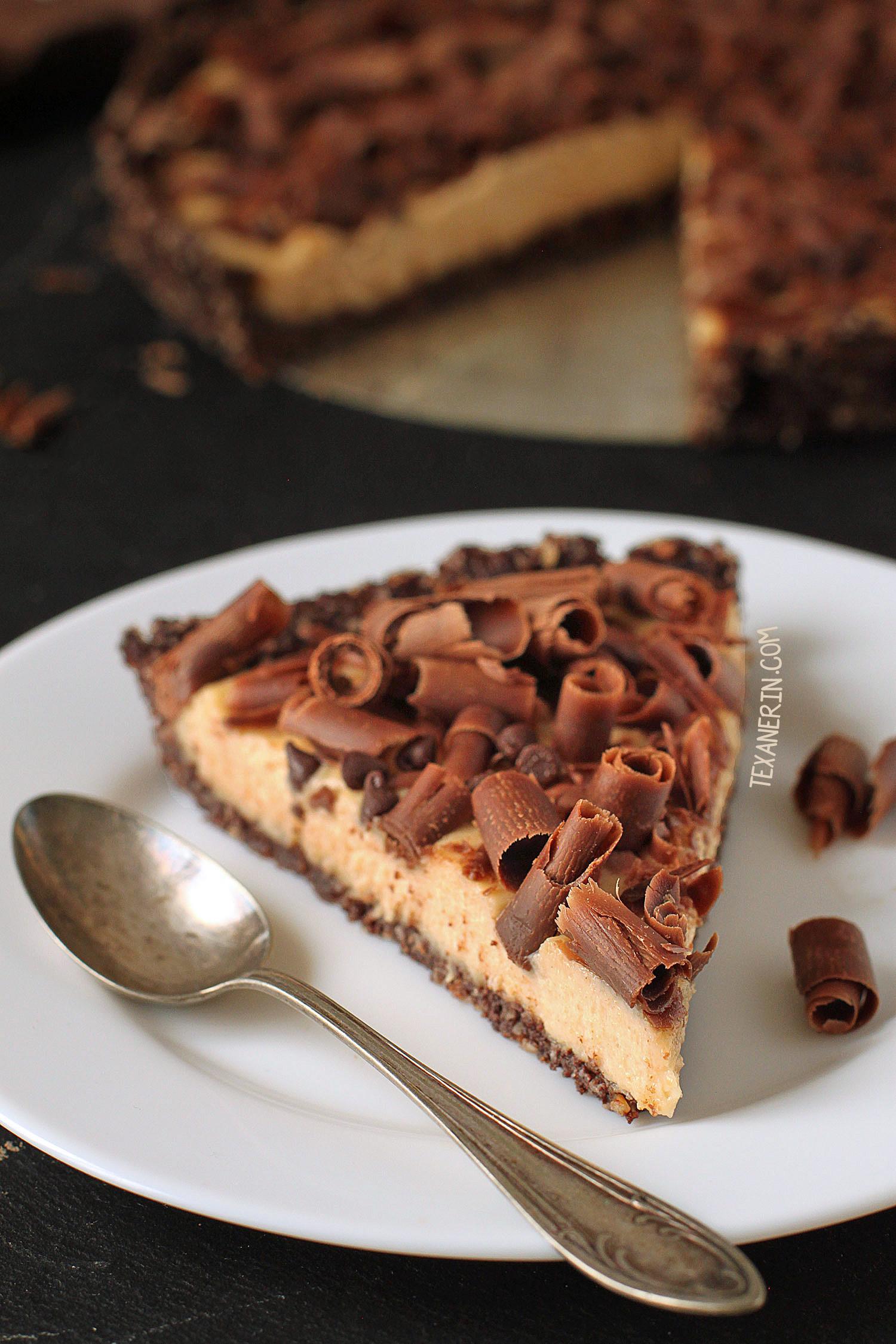 Healthy Peanut Butter Pie  Healthier No bake Peanut Butter Pie grain free