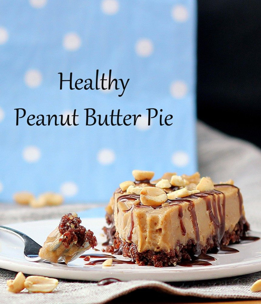 Healthy Peanut Butter Pie  Healthy Banana Recipes Chocolate Covered Katie