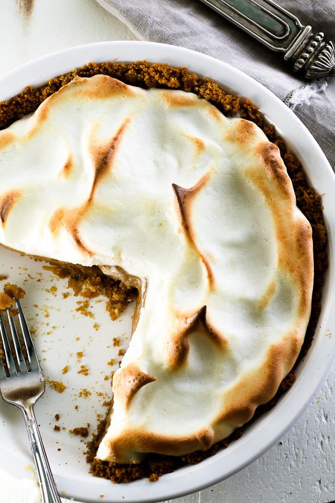 Healthy Peanut Butter Pie  Less Sugar Peanut Butter Pie