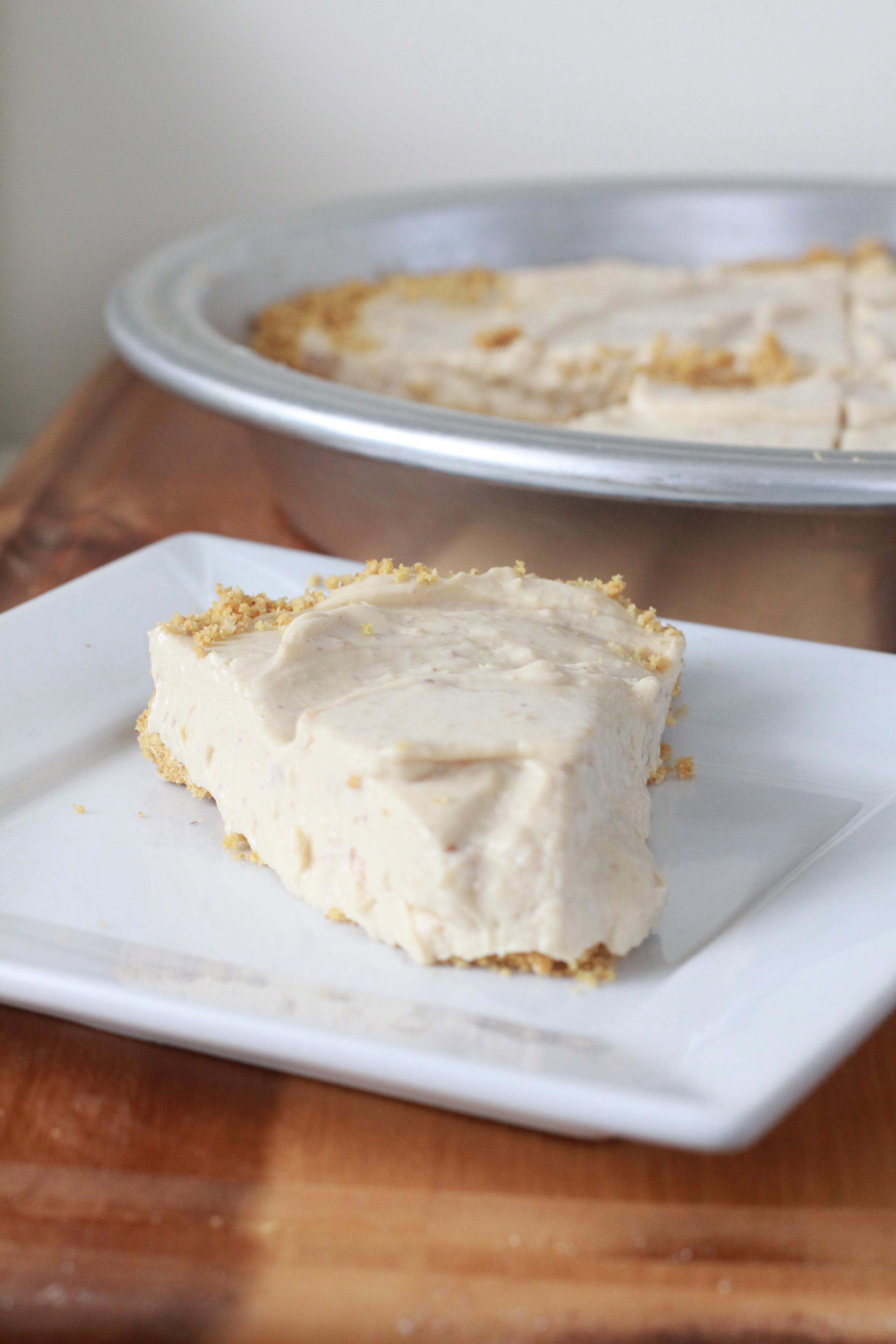 Healthy Peanut Butter Pie  Healthier Peanut Butter Pie 175 calories per slice