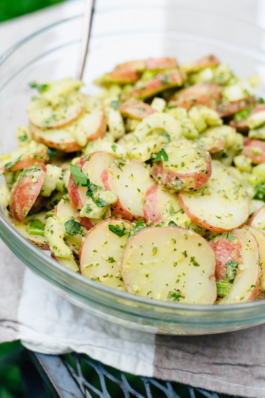 Healthy Potato Recipes  Herbed Red Potato Salad Recipe Cookie and Kate