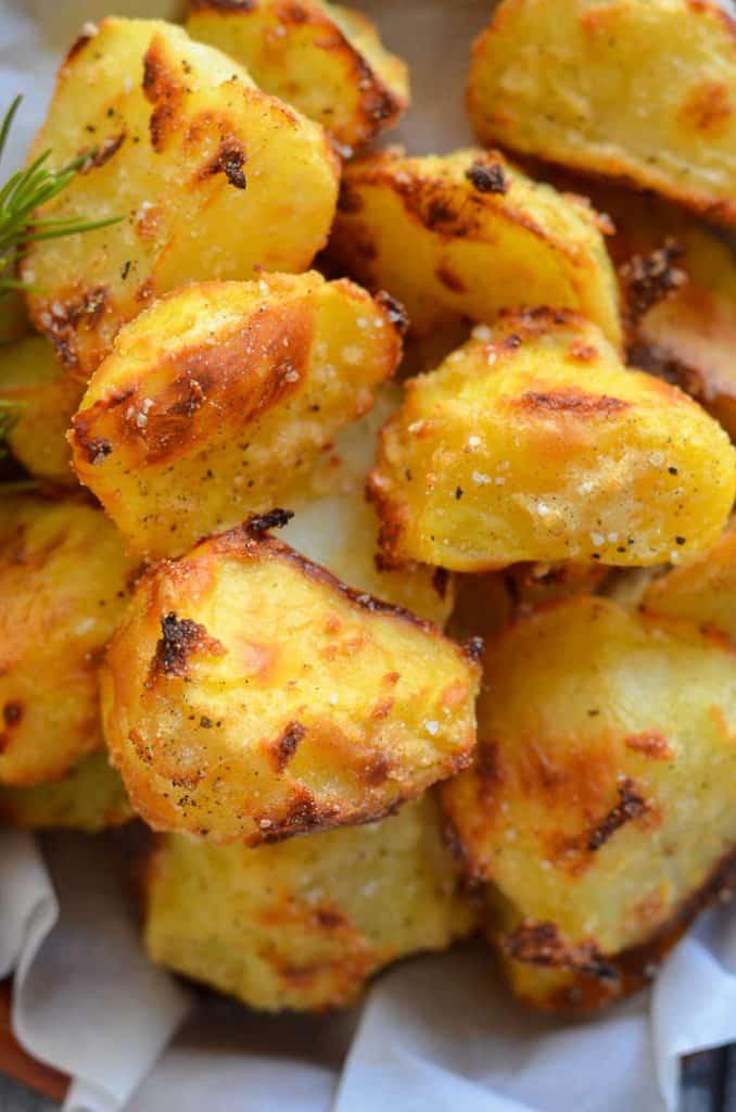 Healthy Potato Recipes  Healthy No Oil Crispy Roasted Potatoes A Virtual Vegan