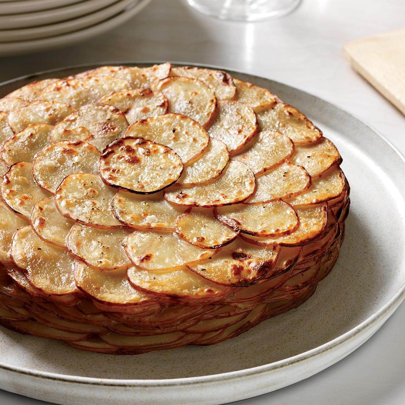 Healthy Potato Recipes  Healthy Potato Gratin with Herbs Recipe Garrett Weber
