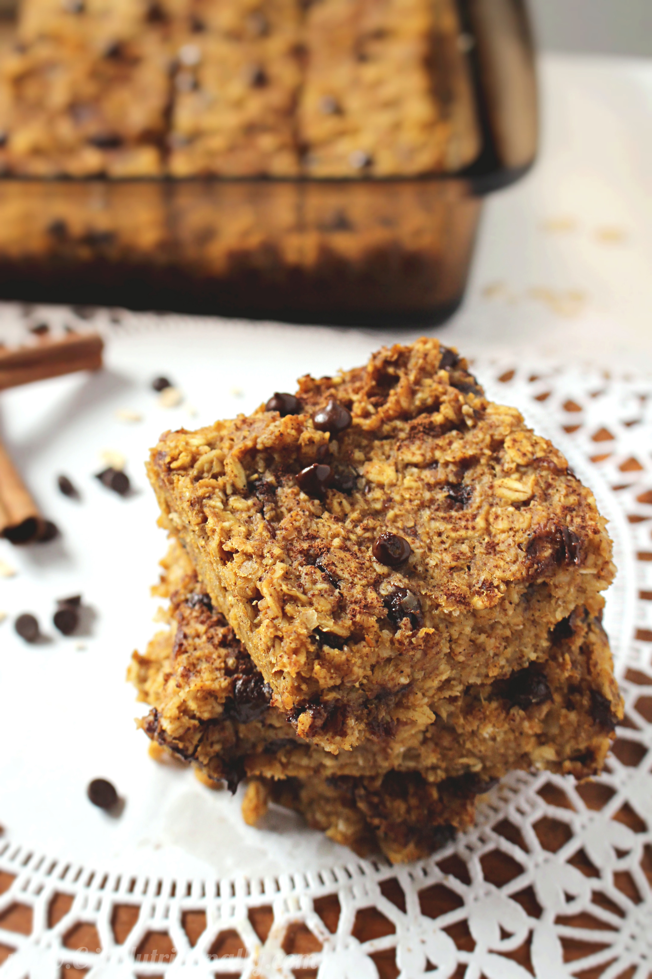 Healthy Pumpkin Chocolate Chip Bread  Healthy Chocolate Chip Pumpkin Bread Oatmeal Bars C it