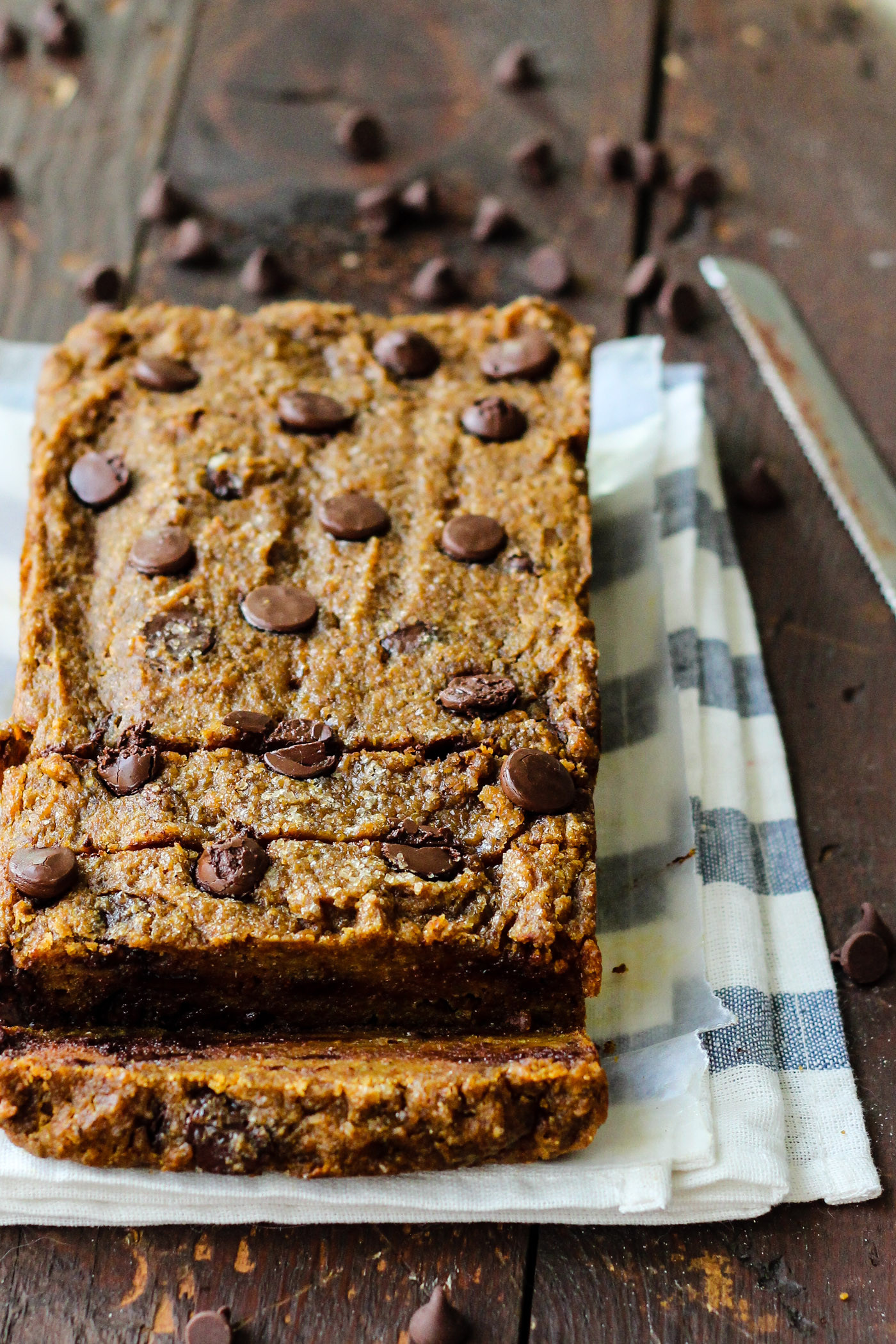 Healthy Pumpkin Chocolate Chip Bread  Healthy Chocolate Chip Pumpkin Bread – The Yooper Girl