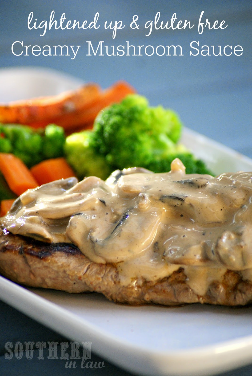Healthy Sauces For Chicken  Southern In Law Recipe Lightened Up Creamy Mushroom