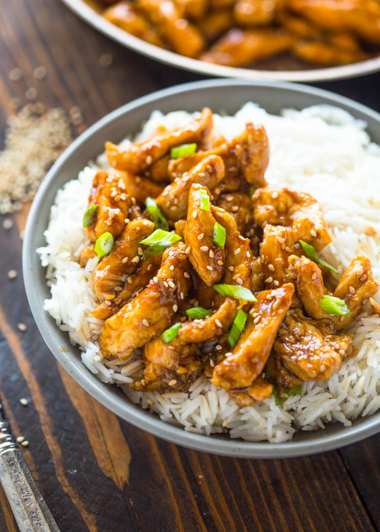 Healthy Sauces For Chicken  Healthier 20 Minute Sesame Chicken