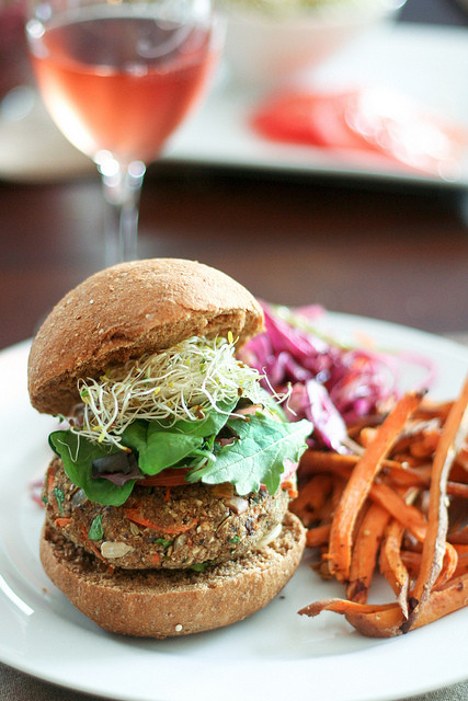 Healthy Side Dishes For Burgers  Veggie Burgers and Sides – My cooking therapy revealed