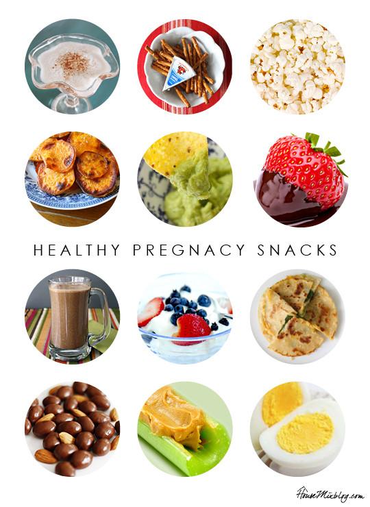 Healthy Snacks During Pregnancy Healthy pregnancy snack ideas