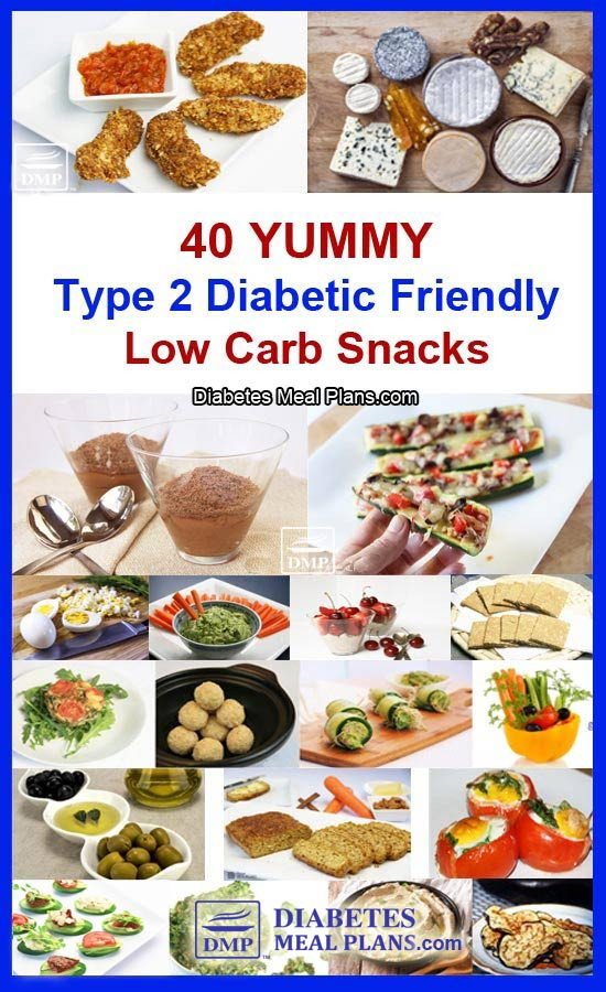 Healthy Snacks For Diabetics Type 2  40 Low Carb Snacks for Diabetics