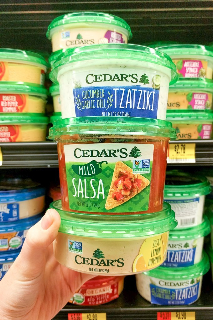 Healthy Snacks From Walmart  gyro sauce walmart