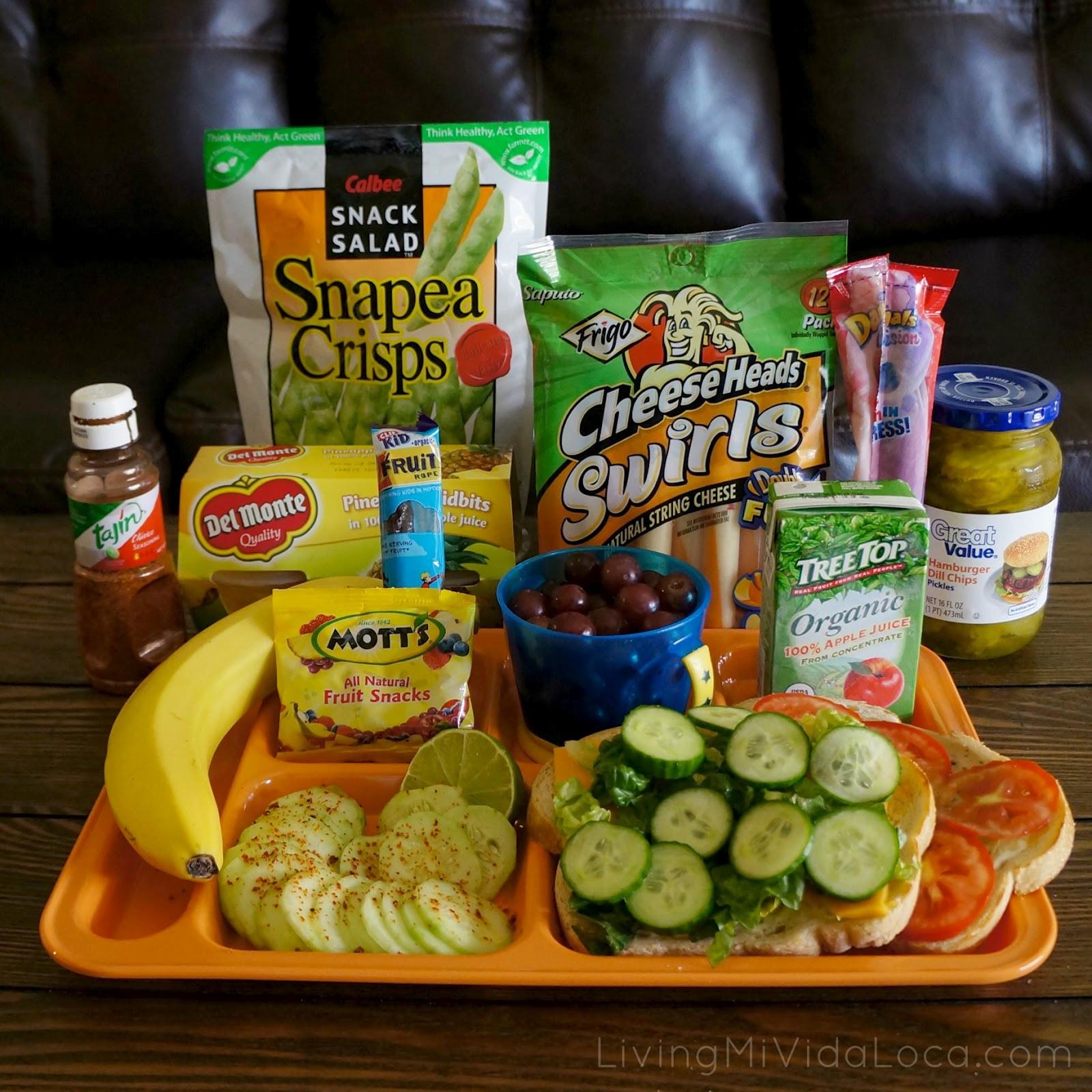 Healthy Snacks From Walmart  Back to School Means Eating Healthy Living Mi Vida Loca