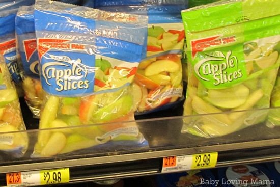 Healthy Snacks From Walmart  Back to School Means Eating Healthy with Walmart Giveaway