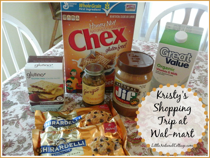 Healthy Snacks From Walmart  Shopping for Healthy Whole Foods at Wal mart Kristy s