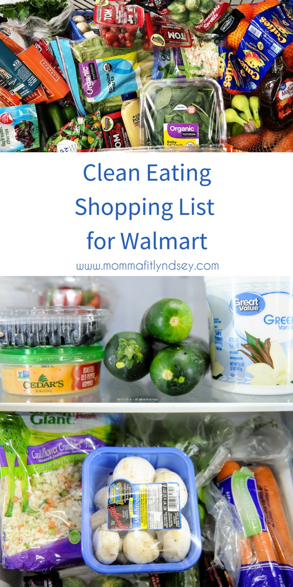 Healthy Snacks From Walmart  Healthy Walmart Shopping List for Organic and Clean Eating