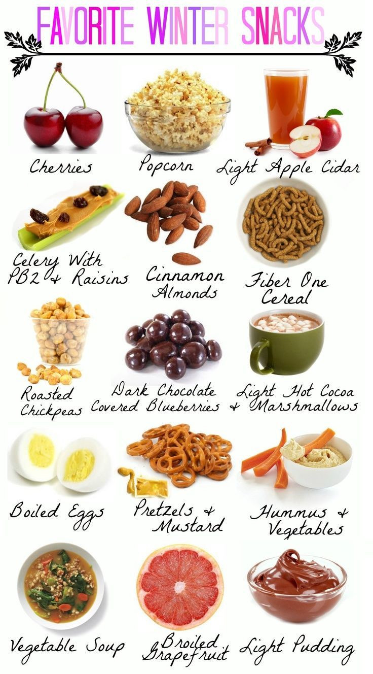 Healthy Snacks On The Go For Weight Loss  Winter Snack Ideas
