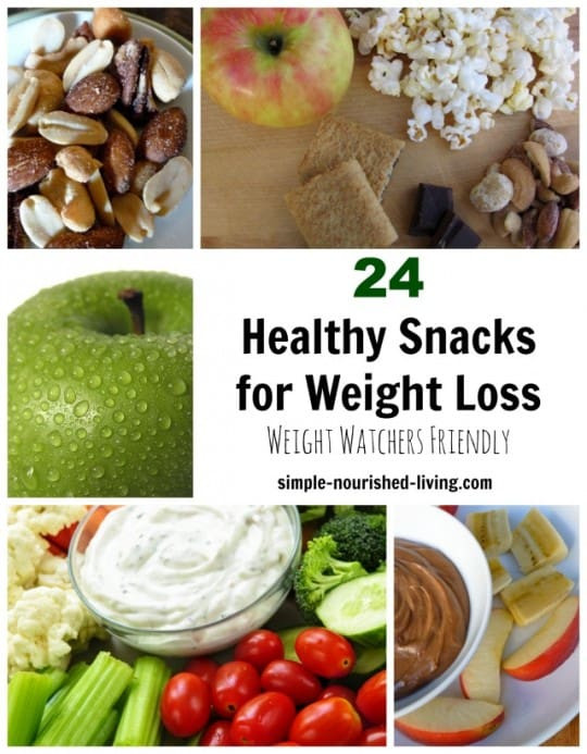 Healthy Snacks On The Go For Weight Loss  24 Healthy Snacks for Weight Watchers w Freestyle SmartPoints
