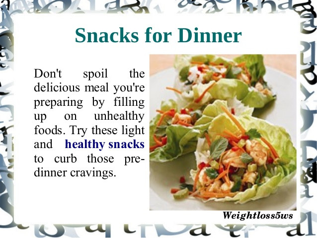 Healthy Snacks On The Go For Weight Loss  Healthy snacks for weight loss