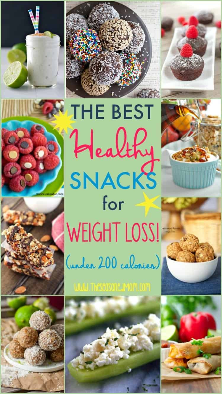Healthy Snacks On The Go For Weight Loss  The Best Healthy Snacks for Weight Loss Under 200